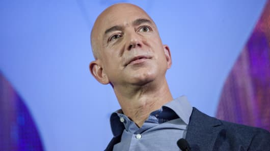 Jeff Bezos, Amazon.com founder and CEO