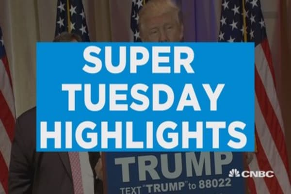 Super Tuesday in two minutes
