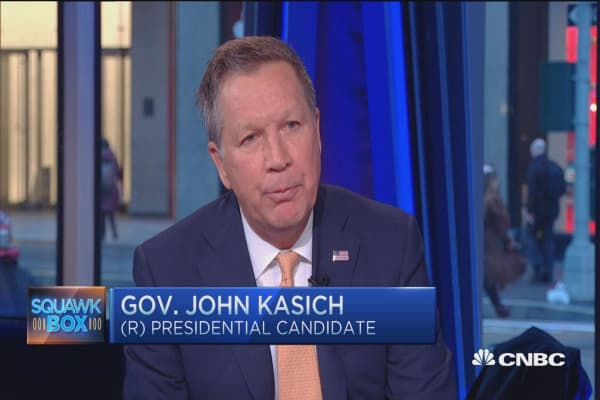 Gov. Kasich: I'm not a moderate, I'm a conservative