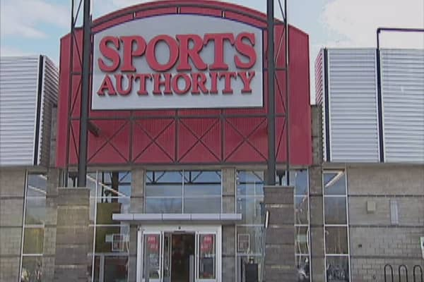 Sports Authority files for bankruptcy protection
