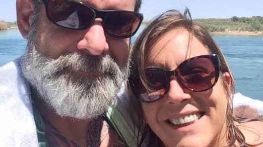 Mandy Pifer with boyfriend Shannon Johnson