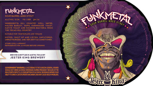 Jester King Brewery Funk Metal