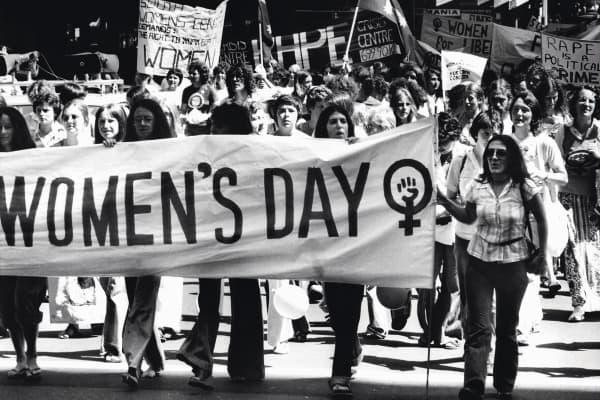 International Women's Day, 12 March 1977.