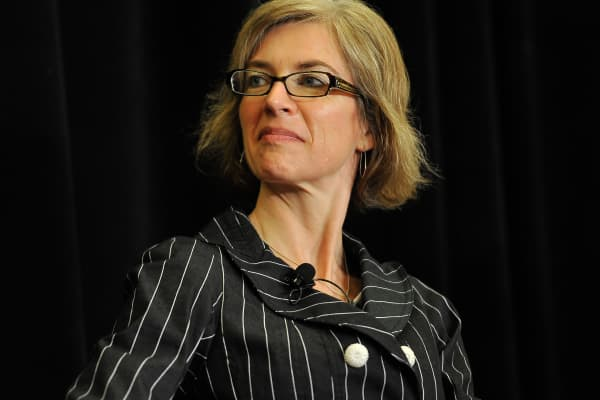 Jennifer A. Doudna is one of four winning researchers on the panel at the Breakthrough Prize Breakfast & Symposia
