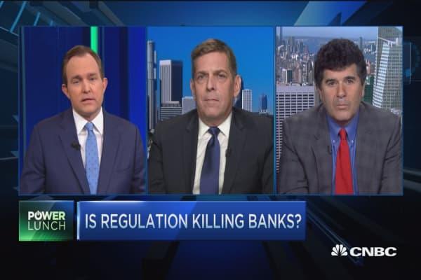 Regulation killing banks?