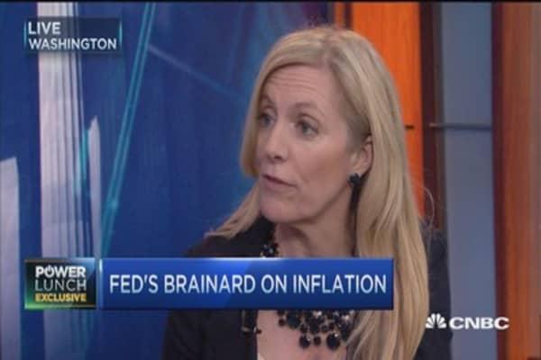 Lael Brainard: Inflation matters