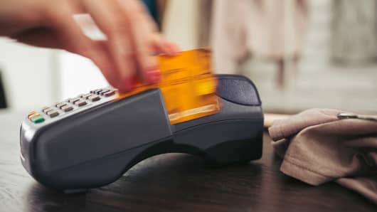 Credit card purchase debt
