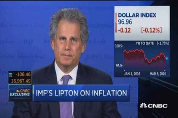 IMF's Lipton: 3-pronged policy is necessary