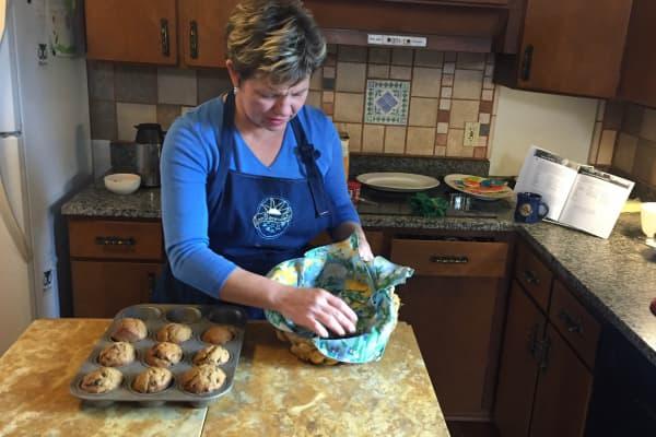 Lisa Kivirist is fighting back against business baking regulations in Wisconsin.