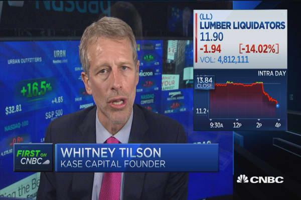 Tilson: 50-50 bet LL won't make it