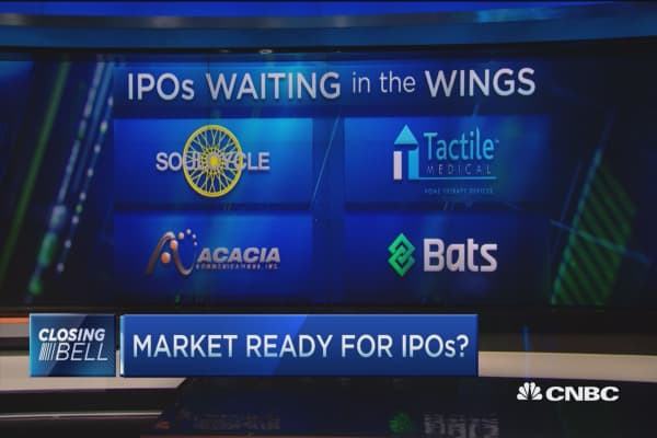 Markets may be ready for IPOs