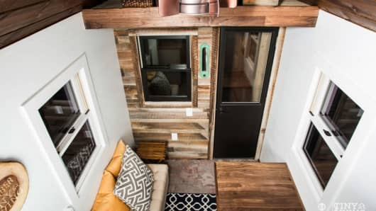 The Tiny Living by 84 Lumber Roving home interior view