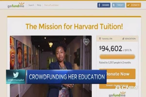 Homeless to Harvard: Crowdfunding education
