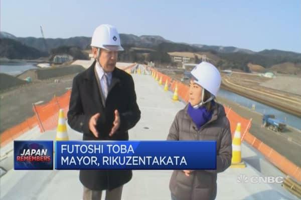 Rebuiliding Rikuzentakata