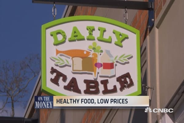 Healthy food, low prices