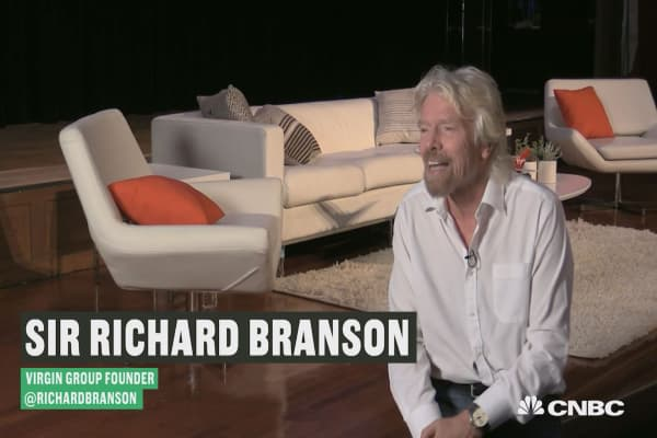 Richard Branson's tips for success