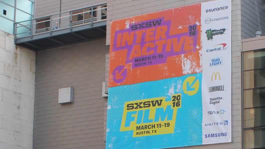 SXSW Signage