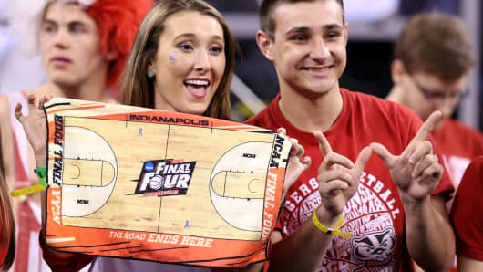 Wisconsin Badgers fans