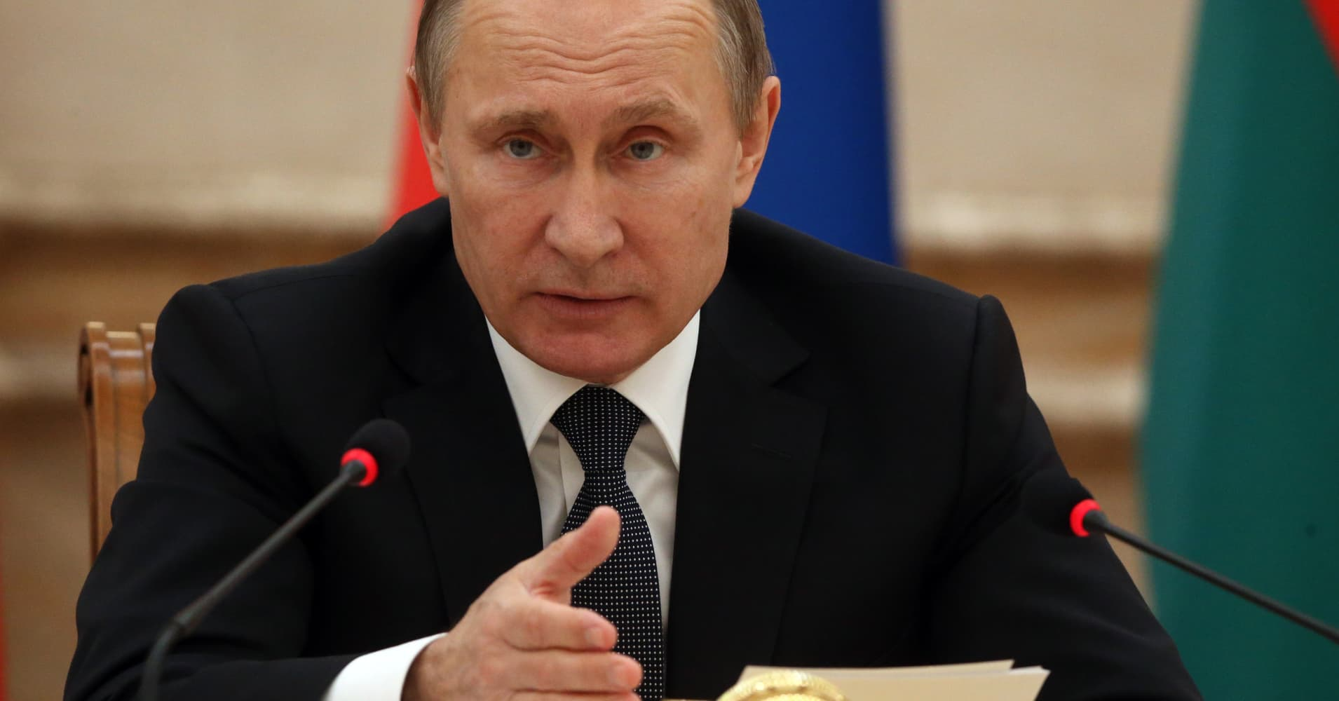 Climate change doubters may not be so silly, says Russia President Putin