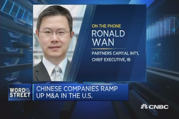 Chinese companies expansion to US