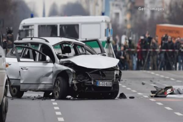 German police say one driver dead in Berlin car explosion