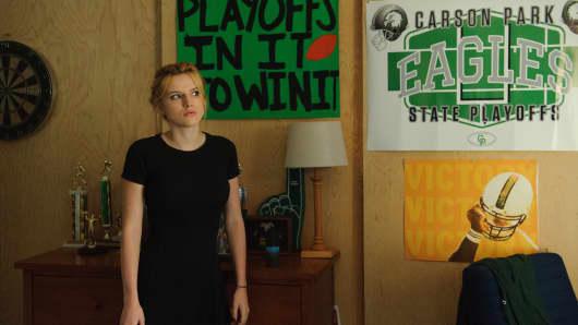 "Bella Thorne stars as Kate in ""Shovel Buddies."""