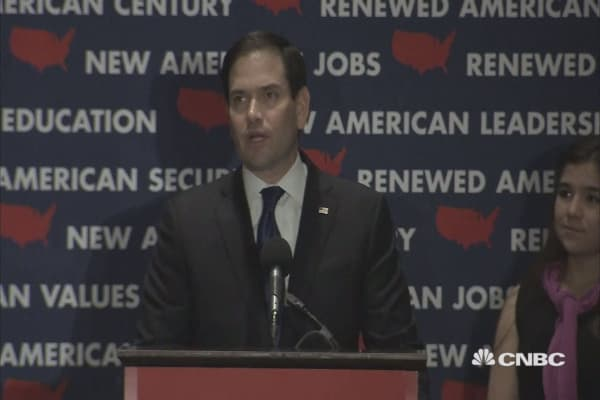Rubio quits presidential race