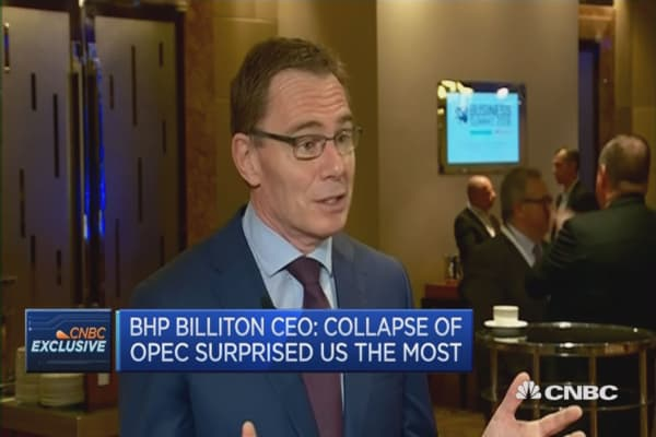 Oil prices may have bottomed: BHP Billiton CEO