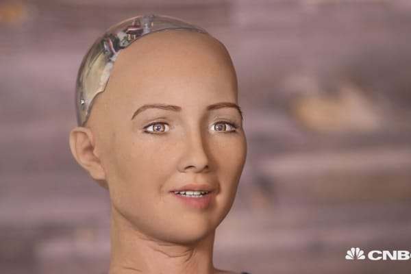 This hot robot says she wants to destroy humans