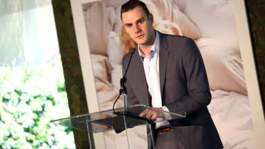 Cooper Hefner, son of Hugh Hefner