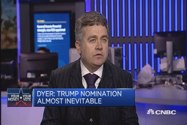 Trump nomination almost inevitable: Dyer