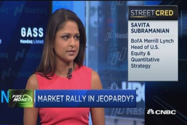 Why market rally is in jeopardy: BofA