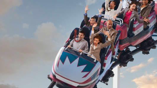 Roller coaster risk tolerance
