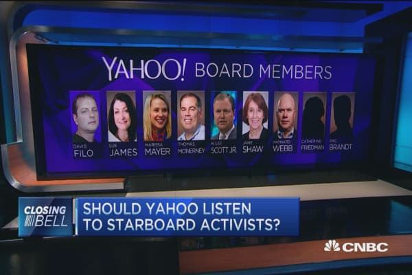 Not fans of Yahoo's board: Analysts