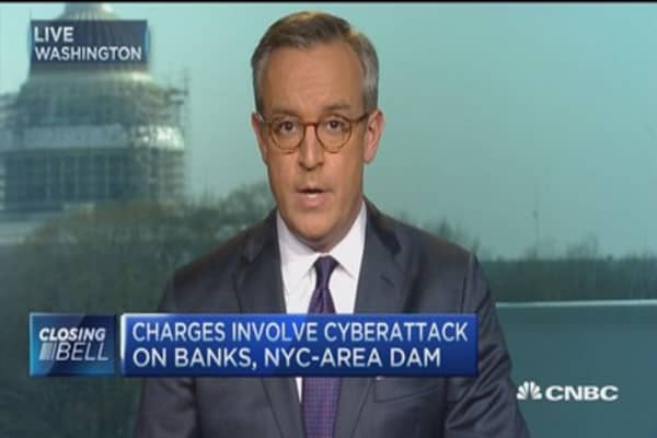 Cyberattack on banks