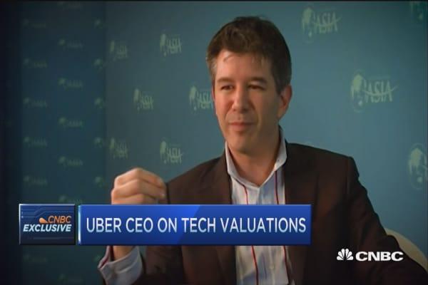 Uber CEO: We're getting good