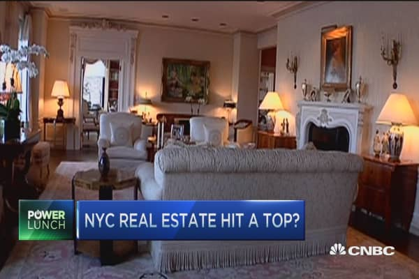 Health of the high end housing for High end real estate nyc