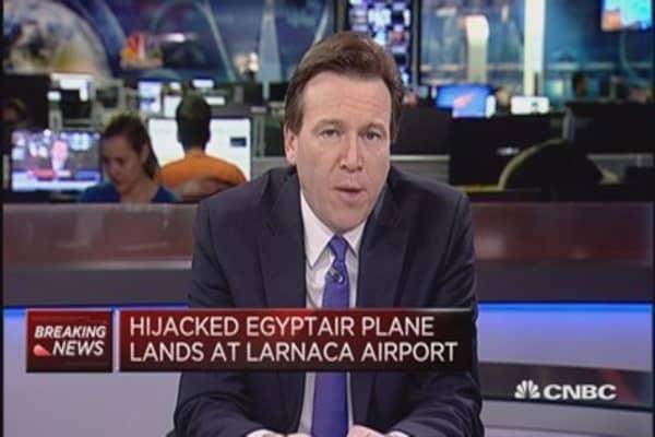 EgyptAir passenger plane hijacked