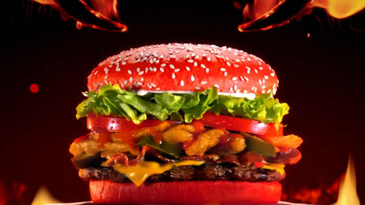 Do you dare? Burger King red bun Whopper is here