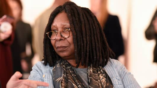 Whoopi Goldberg attends the Stevie Boi Fall 2016 fashion show during New York Fashion Week at Studio 450 on February 13, 2016 in New York City.