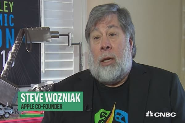 Wozniak: Inspiration and answers are everywhere