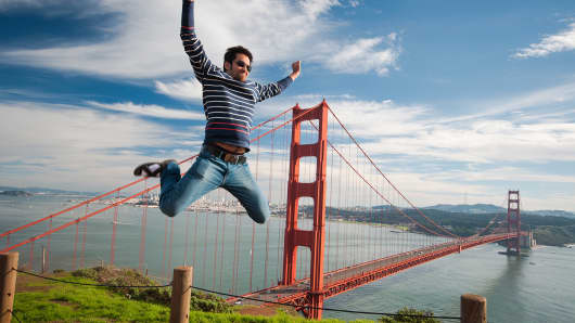 San Francisco is one city favored by college graduates.