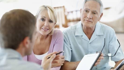 Financial advisor and seniors