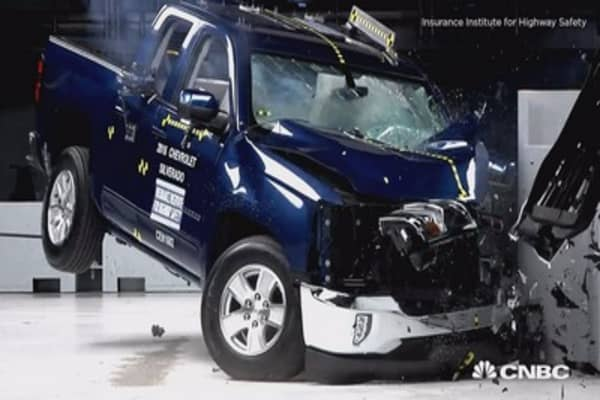 Crash Tests Raise Questions About Ram Trucks