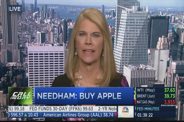 Needham & Company initiates Apple with a strong buy