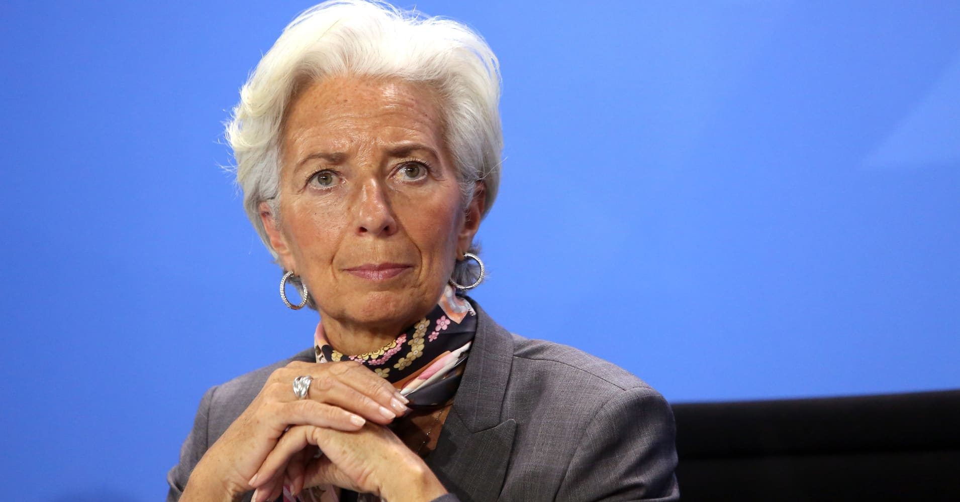 Watch: IMF Managing Director Lagarde holds a news conference at the IMF and World Bank meetings