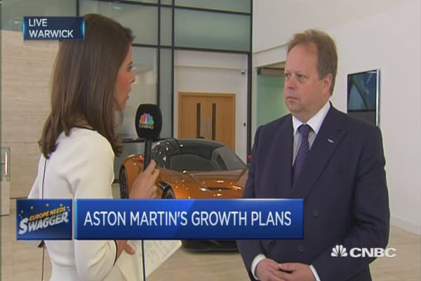How to make Aston Martin sustainable: CEO