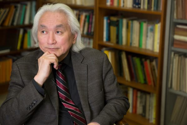 Theoretical physicist and futurist Michio Kaku