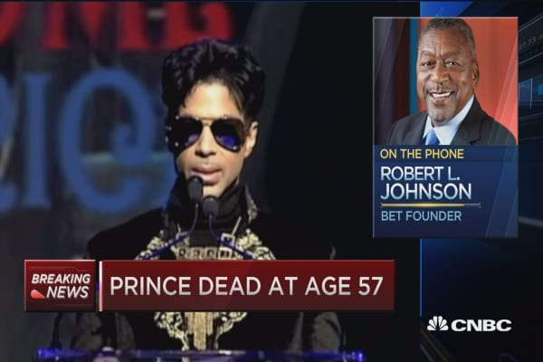 BET's Johnson: Prince was a 'unique genius'