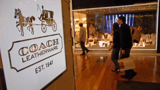 A Coach store